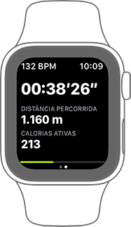 Monitore seu jogo com Apple Watch